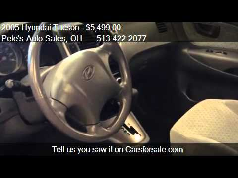 2005 Hyundai Tucson GLS 2.7 2WD - for sale in Middletown. OH