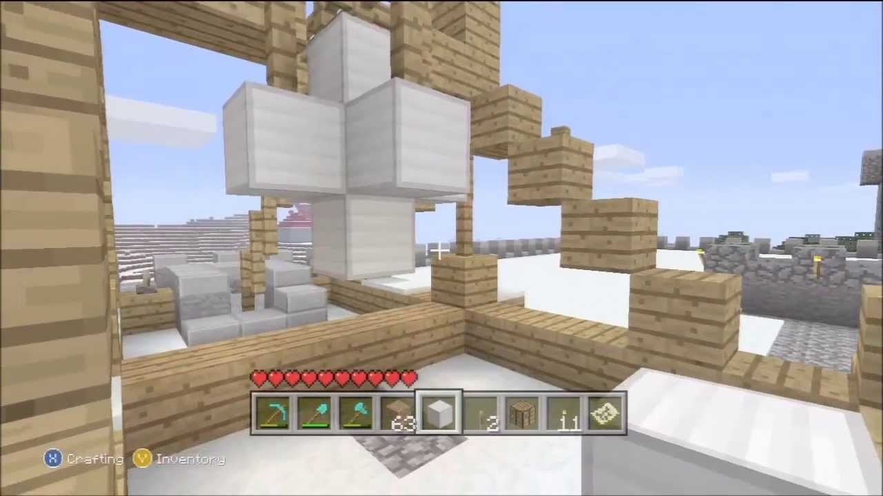 how to make a catapult in minecraft xbox 360