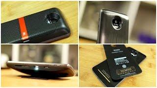 Moto Mods Review: JBL SoundBoost, Lenovo Insta-Share Projector, and Tumi Battery