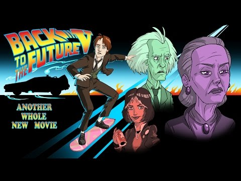 Back to the Future V (5) - FULL LENGTH FEATURE FILM (MOVIE of The Game) - Adam Koralik