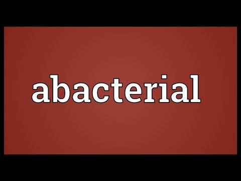 Header of Abacterial