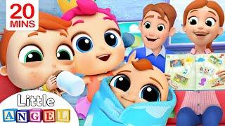 Family Baby Photos | Little Angel Kids Songs \u0026 Nursery Rhymes