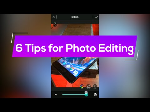 6 Tips/Tricks for Photo Editing on Android!