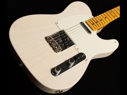 SOLD• Fender Custom Jim Campilongo '59 Top Loader Tele • SN: R57016