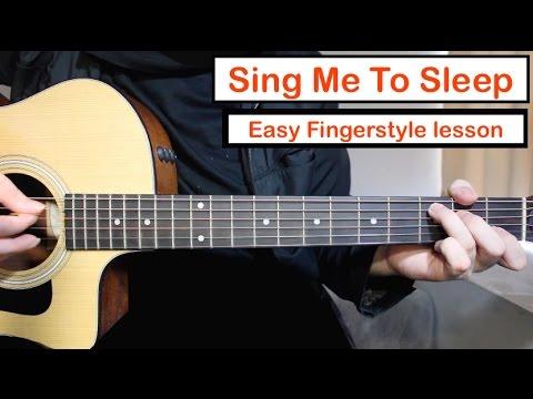 Alan Walker - Sing Me To Sleep | Guitar Lesson Fingerstyle Tutorial