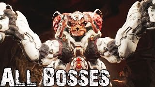 DOOM All Boss Fights / DOOM 2016 All Boss Fights