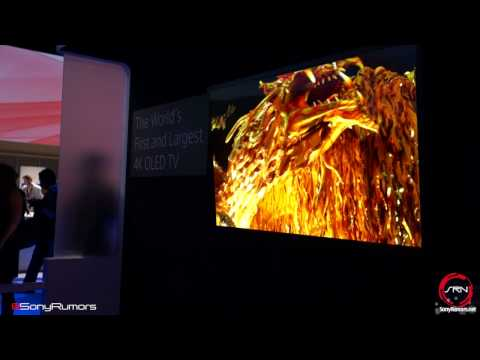 Sony 4K OLED Preview