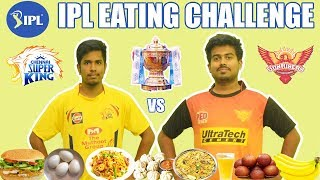 What if IPL Final is an Eating Competition ?   CSK vs SRH   ft. Kailash   Sothu Mootai