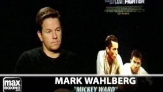 Mark Wahlberg & Christian Bale Discussing