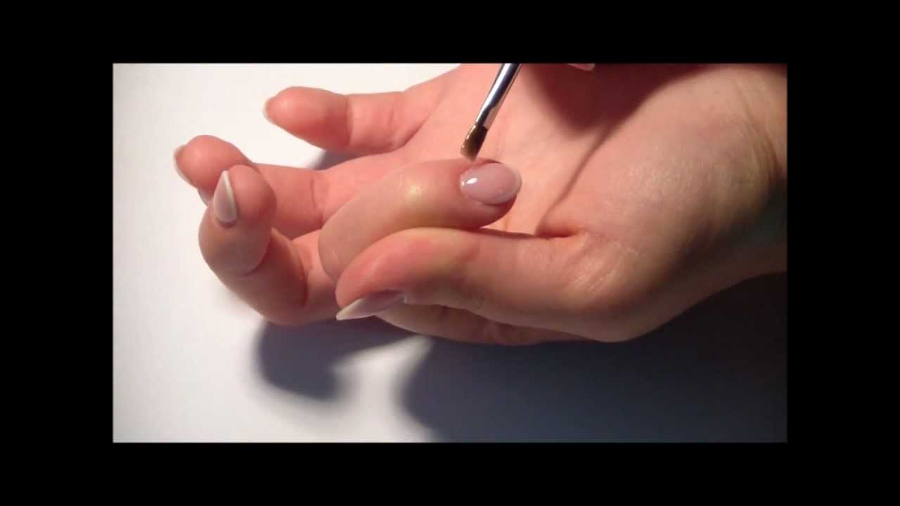 Youtube French Manicure Gel 101