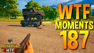 PUBG Funny WTF Moments Highlights Ep 187 (playerunknown's battlegrounds Plays)