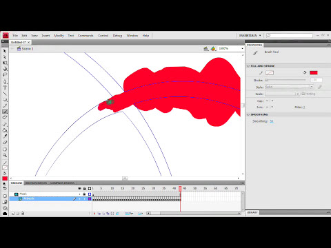 Flash Tutorial: Growing Vines Flourish Animations Tutorial