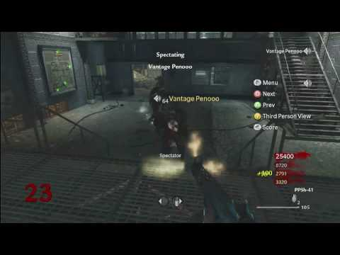 CoD WAW : Der Riese Peno Goes Clutch Level 23 ! HD