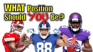 What Position Should You Play in Football ? - Football Tip Fridays