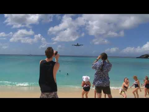 St. Maarten Take-Off & Landings Compilation 2012