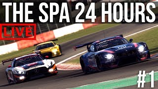 iRacing - 24 Hours Of Spa | Part 1