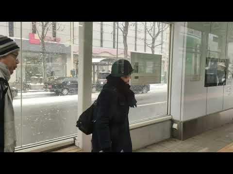 Street Car Ride in Sapporo Transport