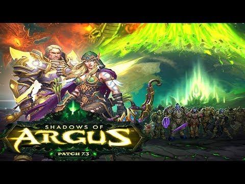The Shadows of Argus - Full Storyline - World of Warcraft Legion 7.3