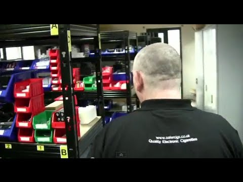 A day at a UK E-cig shop (Safercigs!)