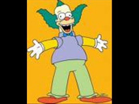 The Simpsons - Krusty The Clown Theme Tune Video