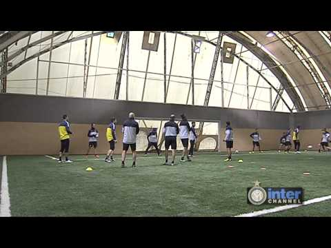 ALLENAMENTO INTER REAL AUDIO 24 05 2013