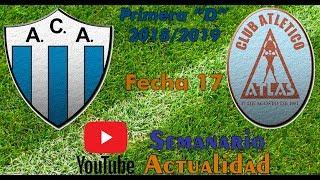 "Primera ""D"" 2018/2019 - Fecha 17 - Argentino de Merlo vs Atlas"