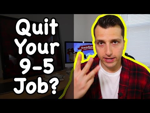 Quit Your 9-5 Day Job to Work As a Full Time Affiliate Marketer?