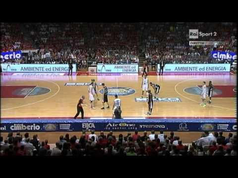 Cimberio Varese - Montepaschi Siena Gara7 1st half