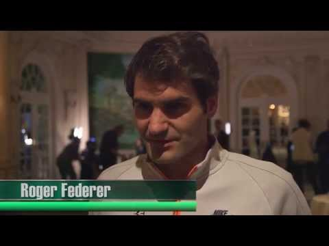 BNP Paribas Showdown 2015: Roger Federer interview