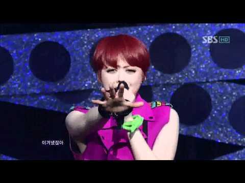 SPICA [러시안 룰렛]   @SBS Inkigayo 인기가요 20120212