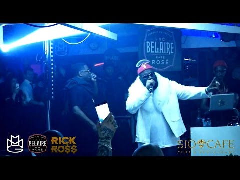 Rick Ross Live @ SIO CAFE MILANO Exclusive Party (Integrale)