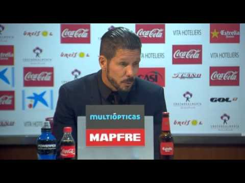 Diego Simeone HEAD COACH ATLETICO MADRID