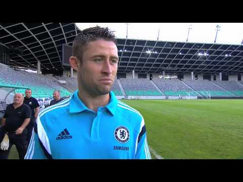 Captain Cahill: Massive honour