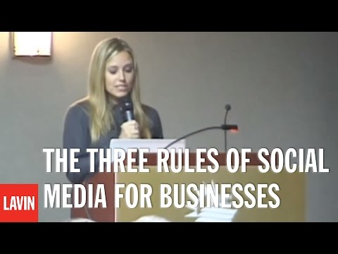 AMBER MAC: The Three Rules of Social Media for Businesses - Authenticity, Bravery, and Consistency