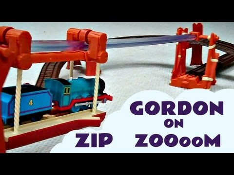 Thomas And Friends ZIP ZOOM Trackmaster with Gordon James Donald & Mavis Kids Toy Train Set