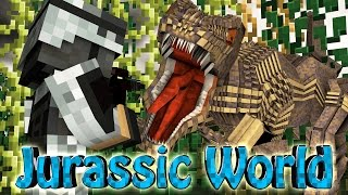 "Minecraft Dinosaurs | Jurassic Craft Modded Survival Ep 62! ""JURASSIC WORLD DINOSAURS ON THE LOOSE"""