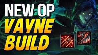 NEW OP VAYNE BUILD - Runaans + Crit + Warlord