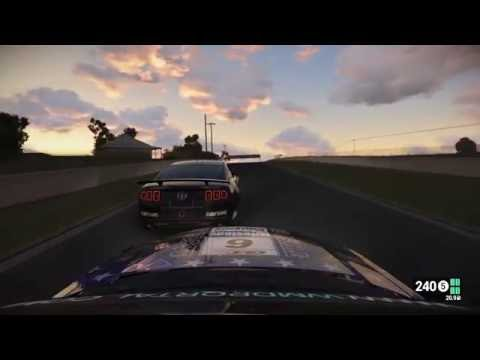 Project CARS gameplay: GT4 Asia-Pacific Trophy (Bathurst) Qualifying 2, Ford Mustang Boss 302R1