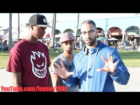 Stealing Peoples Wallets [FouseyTube Prank]