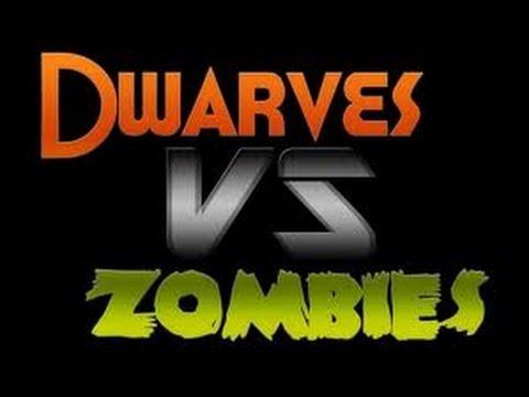 Minecraft: MASSIVE WAR   Dwarfs Vs. Zombies
