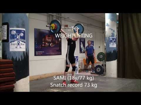 SAMI'S BIG JUMP FROM SKI JUMPING TO WEIGHTLIFTING