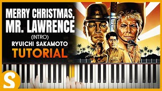 How To Play 34 Merry Christmas Mr Lawrence 34 Intro By Ryuichi Sakamoto Smart Classical Piano