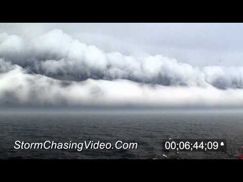 5/3/2012 Wilfred Sykes - Amazing Shelf Cloud while at sea