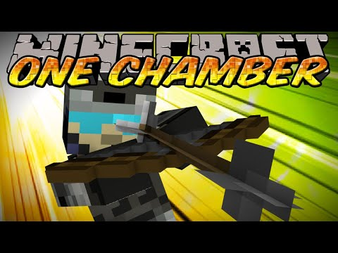 Minecraft Mini-Game One in the Chamber w/ Kermit, Bigbadmanpig, & Jordan