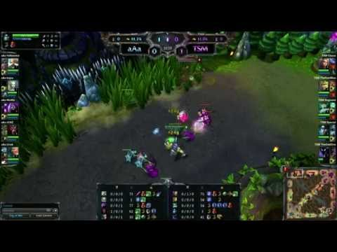 LoL - aAa vs Team SoloMid  Semi-Final Game 2 - League of Legends