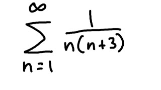 Telescoping Series (Example 1)