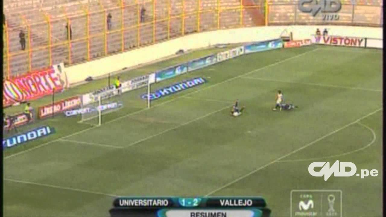 Universitario De Deportes 1-2 Univ.Cesar Vallejo