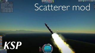 Kerbal Space Program Мод scatterer