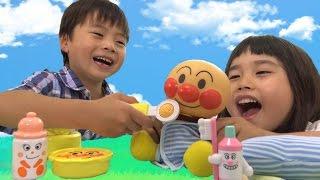 アンパンマン おもちゃ やさしさ育つよ なかよしアンパンマン おままごと Anpanman baby doll set Toy