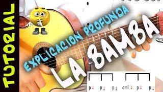 Como tocar La BAMBA TUTORIAL en Guitarra Acustica solo